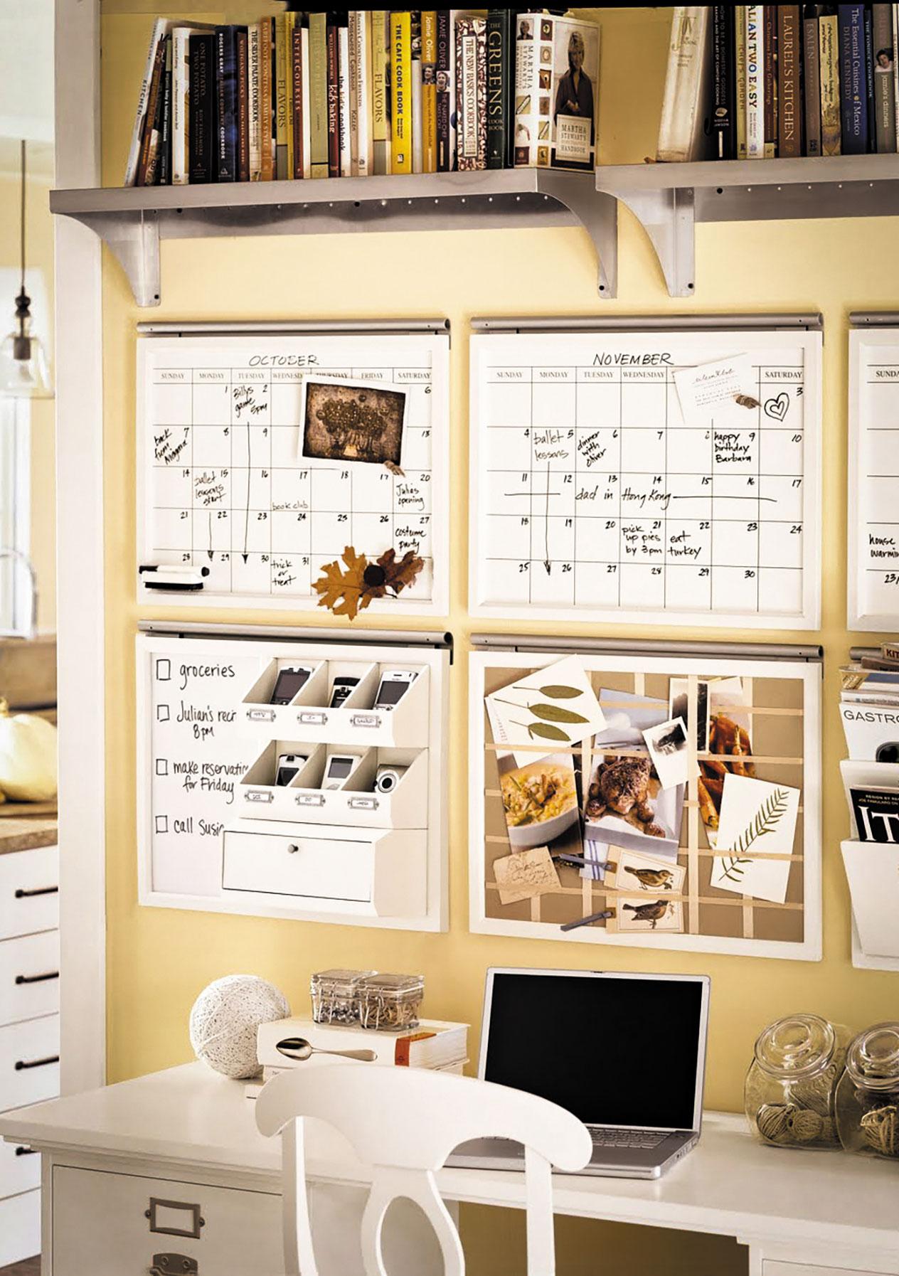 home office organizing la tricoterie fabrique de liens. Black Bedroom Furniture Sets. Home Design Ideas